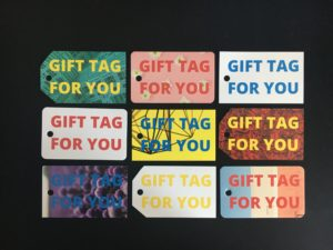Gift and Swing tags